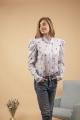 Le Gang - Isabel Marant - Chemise Utah Bleu - photo produit porté de face