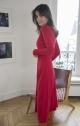 Le Gang - Reformation - Robe Red - photo produit porté de profil