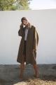 Le Gang - Isabel Marant Etoile  - Manteau Cody - photo produit porté de face
