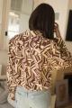 Le Gang - Chloé - Chemise Ornella - photo produit porté de dos