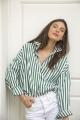 Le Gang - Repeller - Chemise  Stripe - photo produit porté de dos