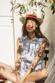 Le Gang - Carolina Ritzler - Combishort Mathilda - photo produit porté de profil