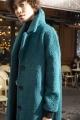 Le Gang - Idano - Manteau Haricot Pinede - photo produit porté de profil