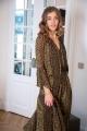 Le Gang - Ulla Johnson - Robe Lotte - photo produit porté de profil