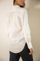 Le Gang - Officine Générale - Chemise White - photo produit porté de profil