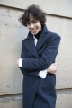 Le Gang - Merci - Manteau Margo - photo produit porté de face