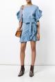 Le Gang - Isabel Marant Etoile  - Robe Lelicia - photo produit porté de face