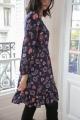 Le Gang - Claudie Pierlot - Robe Rosace - photo produit porté de dos