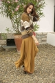 Le Gang - Laurence Bras - Jupe Smith Golden Brown - photo produit porté de dos