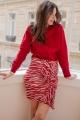 Le Gang - Isabel Marant - Sweat Rouge - photo produit porté de face