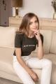 Le Gang - Vanessa Seward - Tee-shirt Je Ne Sais Quoi - photo produit porté de dos