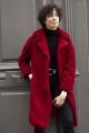 Le Gang - Tara Jarmon - Manteau Mabillon Ruby - photo produit porté de face