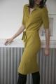 Le Gang - Arket - Robe Cotton Olive - photo produit non porté