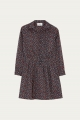 Le Gang - Ba&sh - Robe Sarah Noir - photo produit porté de dos