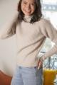 Le Gang - Maje - Pull à col roulé en laine - photo produit porté de dos