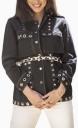 Le Gang - Laurence Bras - Chemise Safra Noire - photo produit non porté