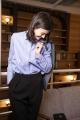 Le Gang - Stella McCartney - Chemise blue rayure - photo produit porté de dos