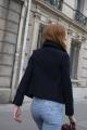Le Gang - Stella McCartney - Manteau Edith - photo produit porté de face