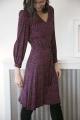 Le Gang - Claudie Pierlot - Robe Raphaella - photo produit porté de dos