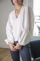 Le Gang - Ulla Johnson - Top Broderie - photo produit porté de dos