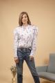 Le Gang - Isabel Marant - Chemise Utah Bleu - photo produit porté de dos