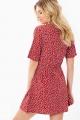 Le Gang - FAITHFULL THE LABEL - Robe Red Dress - photo produit porté de dos