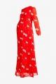 Le Gang - Ivy & Oak - Robe Rouge à Fleurs - photo produit non porté