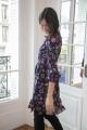 Le Gang - Claudie Pierlot - Robe Rosace - photo produit porté de face