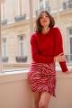 Le Gang - Isabel Marant - Sweat Rouge - photo produit porté de profil