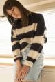 Le Gang - Isabel Marant Etoile  - Pull Reece - photo produit porté de face