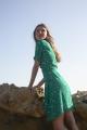 Le Gang - Sessun - Robe Wapi Menthol Henley - photo produit non porté