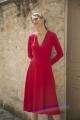 Le Gang - Reformation - Robe Red - photo produit porté de dos