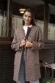 Le Gang - Blumarine - Manteau Sherlock - photo produit porté de face