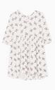 Le Gang - Ba&sh - Robe Flower Ecru - photo produit non porté