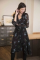 Le Gang - Claudie Pierlot - ROBE ROMILLY - photo produit porté de face