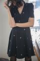 Le Gang - Tara Jarmon - Robe Victoria  - photo produit porté de dos