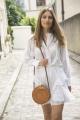 Le Gang - Isabel Marant - Chemise Valda blanche - photo produit non porté