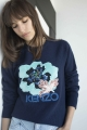 Le Gang - Kenzo - Sweat Indonesian Flower - photo produit porté de face