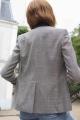 Le Gang - Stella McCartney - Veste Kariertes Sakko - photo produit porté de dos