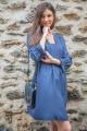 Le Gang - Tara Jarmon - Robe Maisa Indigo - photo produit non porté