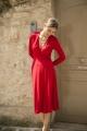 Le Gang - Reformation - Robe Red - photo produit porté de face