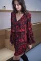 Le Gang - PARKER - Robe Red - photo produit porté de dos