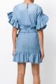 Le Gang - Isabel Marant Etoile  - Robe Lelicia - photo produit porté de dos