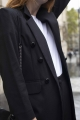 Le Gang - Carolina Ritzler - Manteau Paolo - photo produit porté de dos