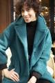 Le Gang - Idano - Manteau Haricot Pinede - photo produit porté de face