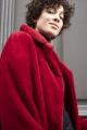 Le Gang - Tara Jarmon - Manteau Mabillon Ruby - photo produit porté de profil