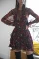 Le Gang - IRO - Robe Claire - photo produit porté de dos