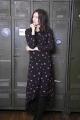Le Gang - Claudie Pierlot - Robe RIPIENO fleurie - photo produit porté de dos