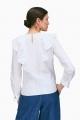 Le Gang - Tara Jarmon - Blouse Popeline - photo produit porté de dos