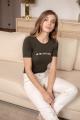 Le Gang - Vanessa Seward - Tee-shirt Je Ne Sais Quoi - photo produit porté de face